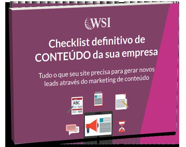 CHECKLIST DE CONTEÚDO